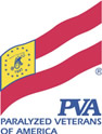 A logo of the Paralyzed Veterans of America.