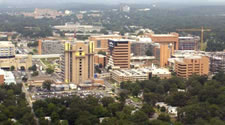 Picture of the UAMS campus at Little Rock