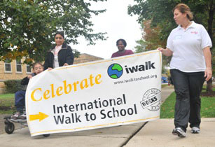 International Walk to School Day