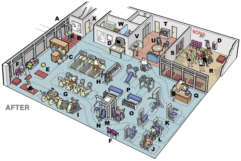 Gym layout pictures to pin on pinterest pinsdaddy for Gym designs and layout