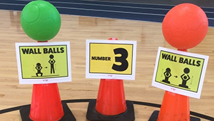 Inclusive Physical Education Fitness Stations