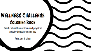 Wellness Challenge Coloring Book