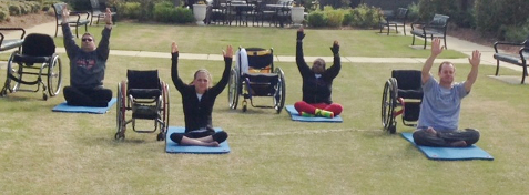 Awesome Yoga For Individuals With Disabilities Nchpad Building Creativecarmelina Interior Chair Design Creativecarmelinacom