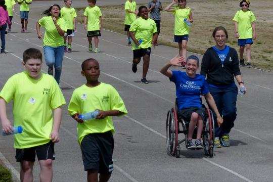 Schools: Show us How You Walk!