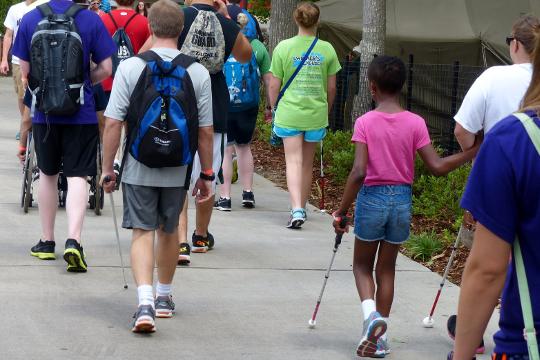 Communities: Show us How You Walk!