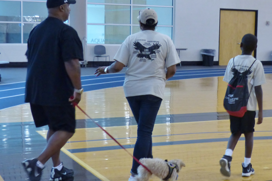 Veterans: Show us How You Walk!